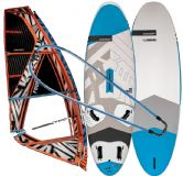 Pokroèilý set na windsurfing znaèky RRD 135 Wood + Plachta Blue 5.7